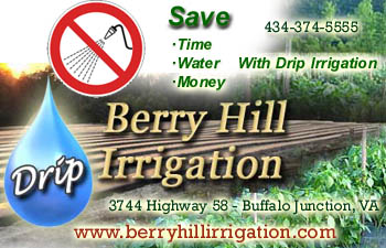 Berry Hill Irrigation Ad