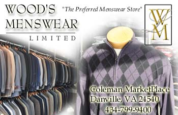 Wood's Menswear Ltd - The Preferred Menswear Store - Click for more